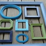 Рамки в интерьере квартиры 5