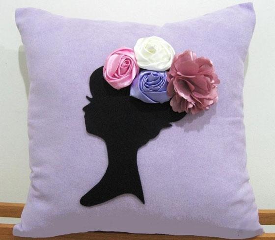 Креативный подушки своими руками 92