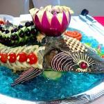 Украшенная рыба