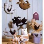 Вариант тряпичной куклы-кошки