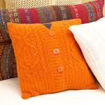 Подушка из старой одежды 3