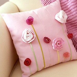 Декоративные подушки своими руками из ткани фото фото 6