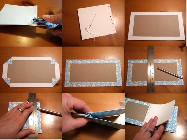 Как сделать книгу своими руками из бумаги фото поэтапно для начинающих