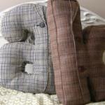 Подушка из старой одежды 4