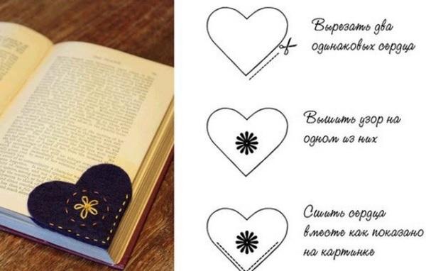 Закладки для книг своими руками картинки