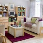 Интерьер зала в маленькой квартире