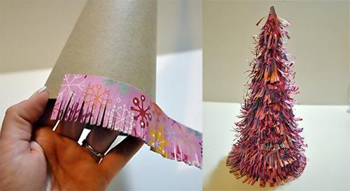 Ёлки сделанные своими руками из бумаги