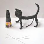 Гибкий шустрый котик изготовление 8