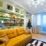 Вариант оформления двухкомнатной квартиры