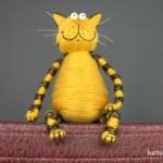 Довольный пузатый кот изготовление 15