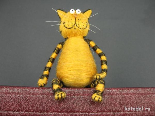 Кот поделка своими руками