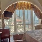 Пример дизайна штор для спальни