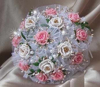 Букет из искусственных цветов своими руками фото 785