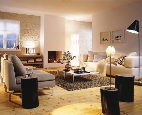 дизайн камина в гостиной фото