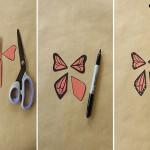 Мобильная бабочка