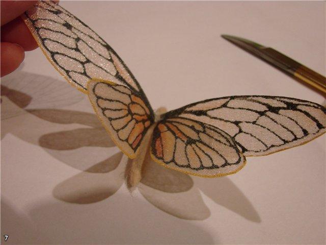 Крылья для бабочек сшить