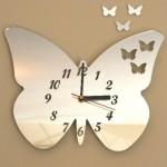 Часы с бабочкам