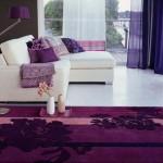 Фиолетовый цвет в интерьере