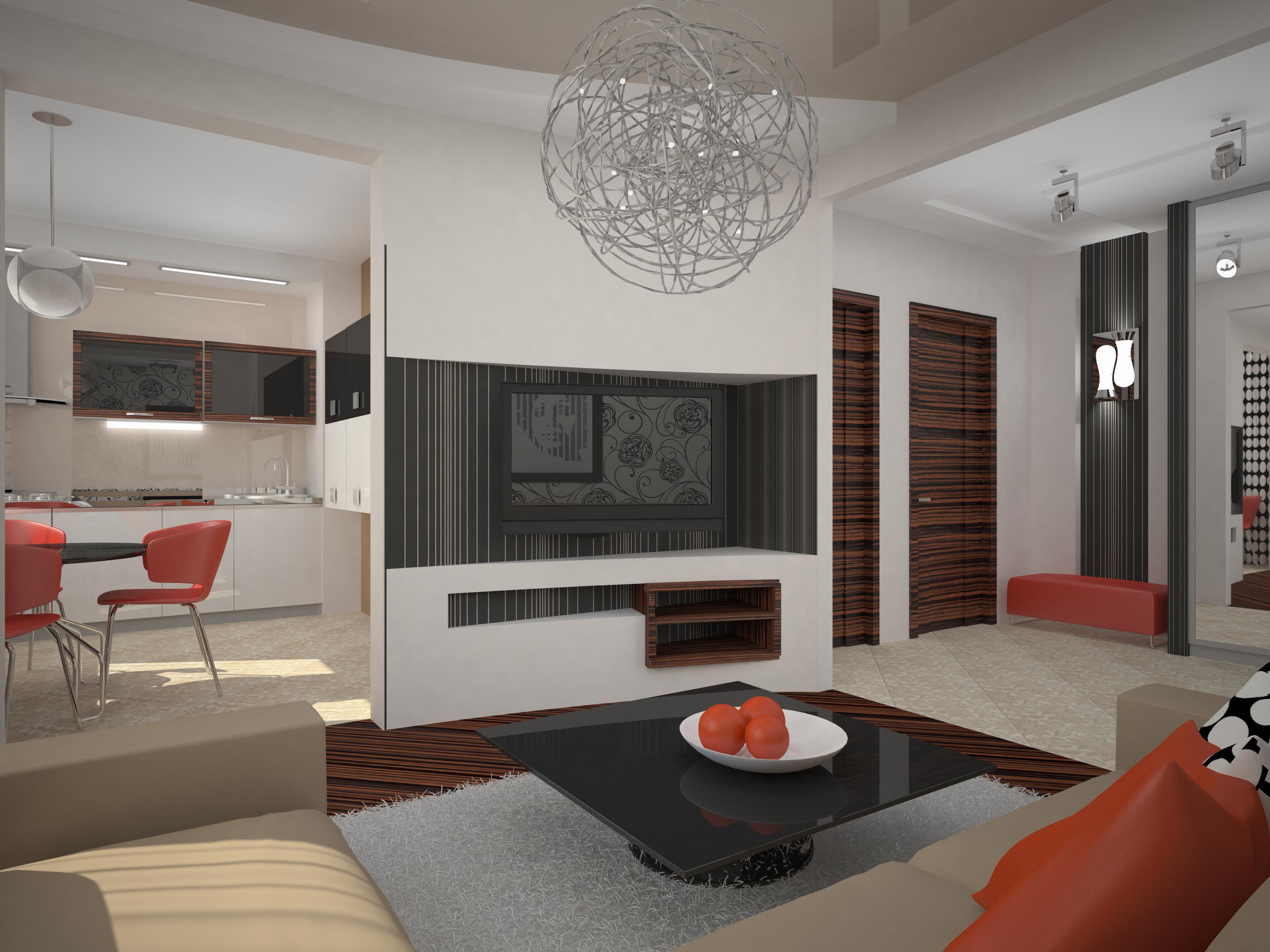 Квартиры дизайн двушки