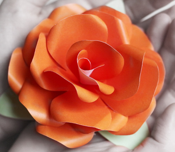 Как сделать цветок своими руками быстро фото 121