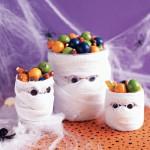 Корзинки со сладостями на Хэллоуин