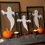 Тыквы и привидения на Хэллоуин