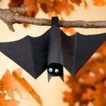 Летучая мышь на Хэллоуина