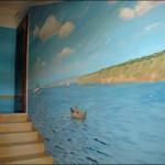 украшаем стены подъезда