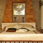 Спальня в египетском стиле