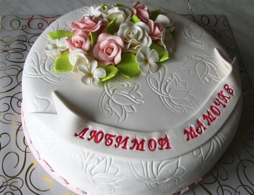 Красивый торт маме своими руками