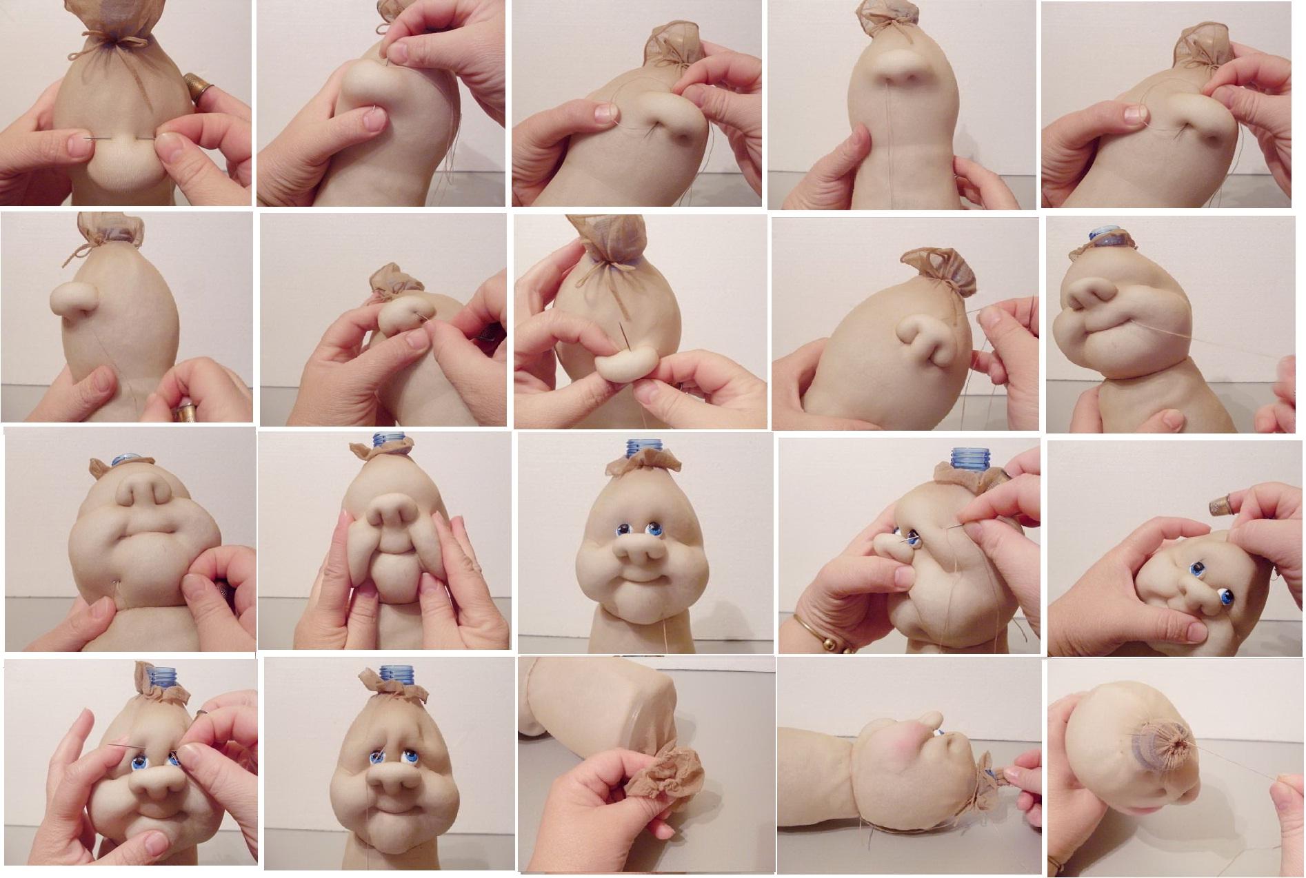 Куклы из колготок своими руками видео бесплатно