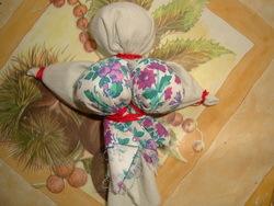 Изготовление куклы-оберега из ткани 4