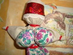 Изготовление куклы-оберега из ткани 5