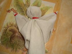 Изготовление куклы-оберега из ткани 3