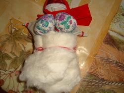 Изготовление куклы-оберега из ткани 12