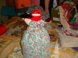 Изготовление куклы-оберега из ткани 13