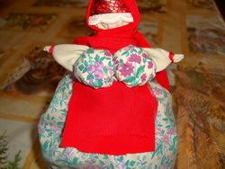 Изготовление куклы-оберега из ткани 14