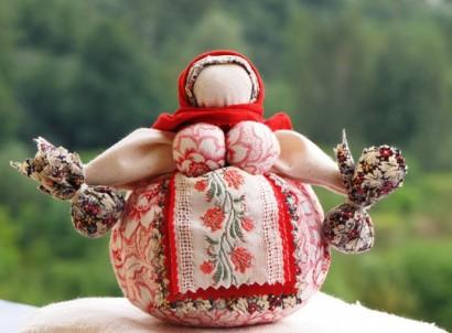 Кукла оберег Кубышка
