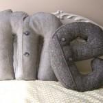 Подушка из старой одежды 2