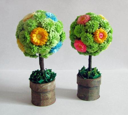 Круглые деревья своими руками