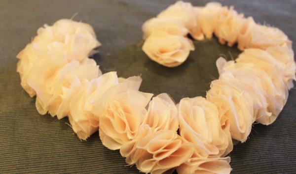 Нежное сердце цветки