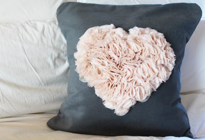 выкройки подушки сердцем своими руками