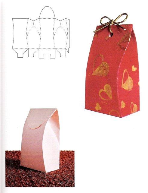 Оригинальный подарочный пакетик