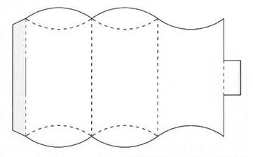 Коробочка-футляр макет