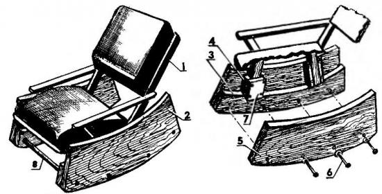 Кресло качалка 2