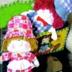 Куклы из лоскутов