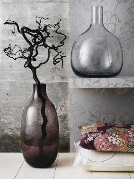 Разные напольные вазы