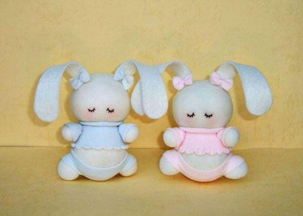 Простые куклы своими руками из ткани фото