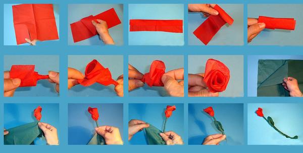 Техника роза
