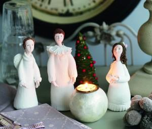 Разнообразие игрушек ангелов